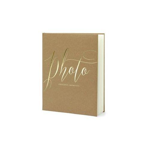 """Partydeco Album na zdjęcia """"precious moments"""", , 20 x 24,5 cm, kraft, 22 kartki"""