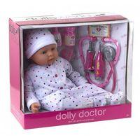 Dolls world Lalka bobas dolly doctor 46 cm (5018621087398)
