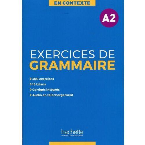En Contexte Exercices de grammaire A2 Podręcznik + klucz odpowiedzi