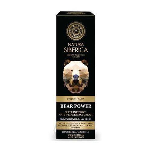 Natura siberica przeciwzmarszczkowy krem do twarzy siła niedźwiedzia 50ml