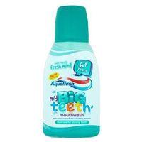 Aquafresh big teeth płyn do płukania jamy ustnej dla dzieci fresh mint (6+ years) 300 ml (3830029294855)