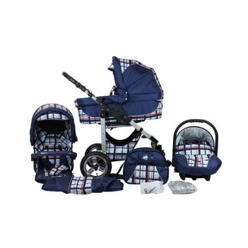 Bergsteiger Wózek spacerowy Capri - zestaw blue stripes