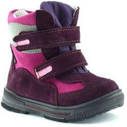 Śniegowce dla dzieci z membraną renbut 12-1463 - różowy ||fioletowy marki Ren but