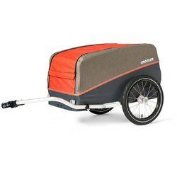 Croozer cargo pakko przyczepka towarowa, campfire red 2020 przyczepki rowerowe cargo