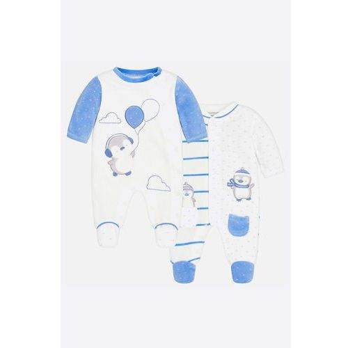 - śpioszki niemowlęce 55-75 cm (2-pack) marki Mayoral