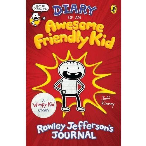 Diary of an Awesome Friendly Kid - Kinney Jeff - książka (234 str.)