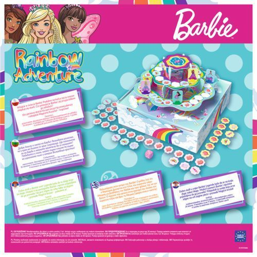 Trefl Barbie rainbow adventure (5900511016758)