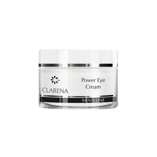 CLARENA Power Eye Cream Krem pod oczy dla mężczyzn 15 ml