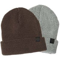 czapka zimowa KREW - Gunner Beanie 2 Pk Grey Htr/Olive (GRG) rozmiar: OS