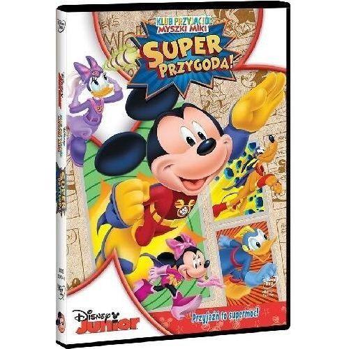 Klub Przyjaciół Myszki Miki. Super przygoda! [DVD] (7321917500418)