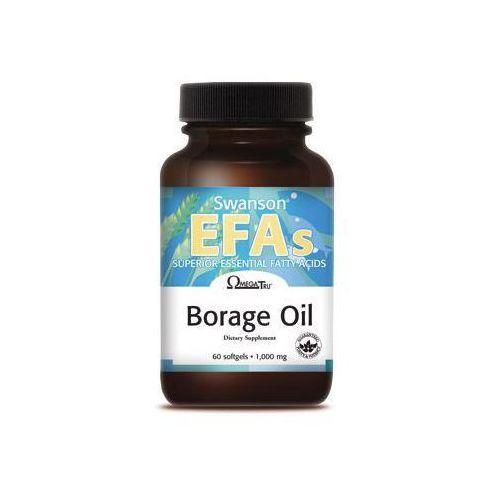 Kapsułki Borage oil 60 miękkich kapsułek / 1000 mg