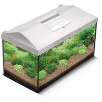 Aquael zestaw akwariowy leddy set pap-40 biały filtr grzałka led