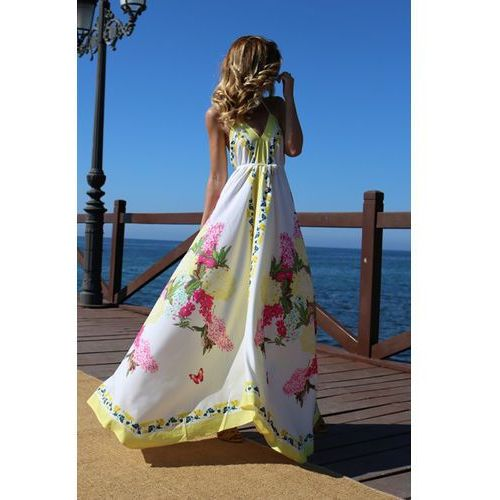 Sukienka CONSTANZA, kolor wielokolorowy