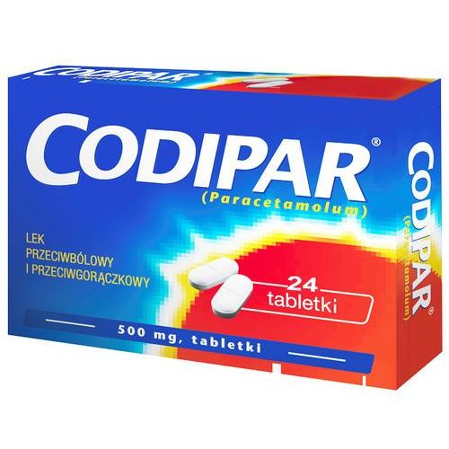 Codipar, 500 mg x 24 tabletek