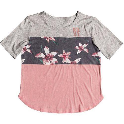 Koszulka - he win cb ss t charcoal heather flower field (kpg6) marki Roxy