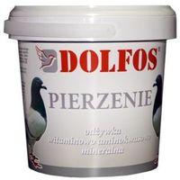 DOLFOS DG Pierzenie - odżywka mineralno - aminokwasowo - witaminowa dla gołębi 400g