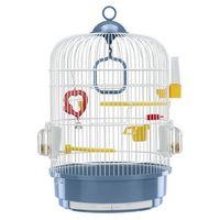 Ferplast Regina klatka okrągła z wyposażeniem dla kanarka, papużki