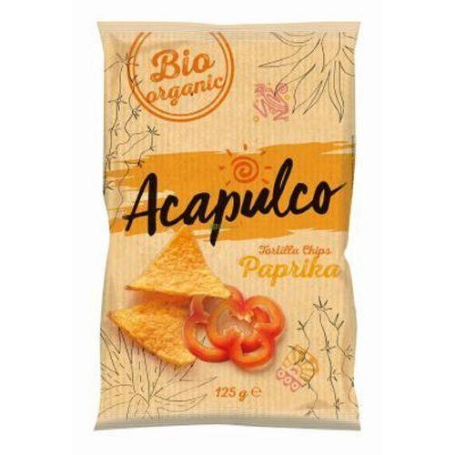 Nachosy o smaku paprykowym BIO 125 g Acapulco - Niesamowita cena