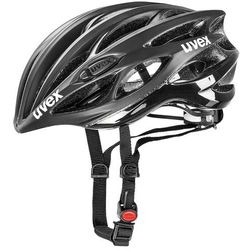 Uvex kask rowerowy race 1 black mat/shiny (50-55 cm)
