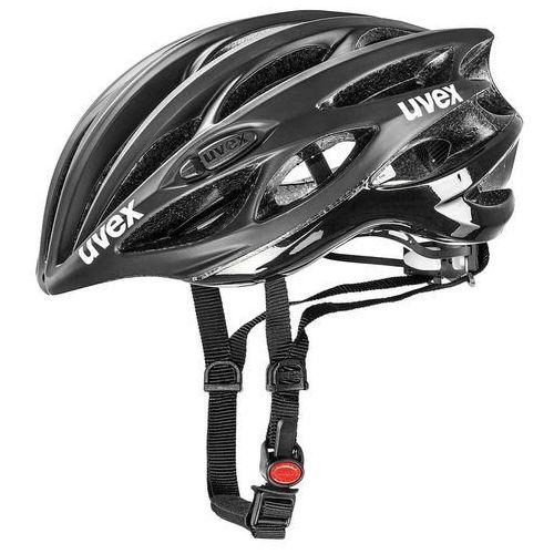 Uvex kask rowerowy race 1 black mat/shiny (50-55 cm)