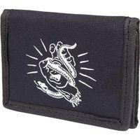portfel SANTA CRUZ - Snakebite Wallet Black (BLACK)