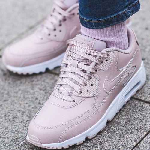 Nike Air Max 90 Buty sportowe biało różowe Ceny i opinie
