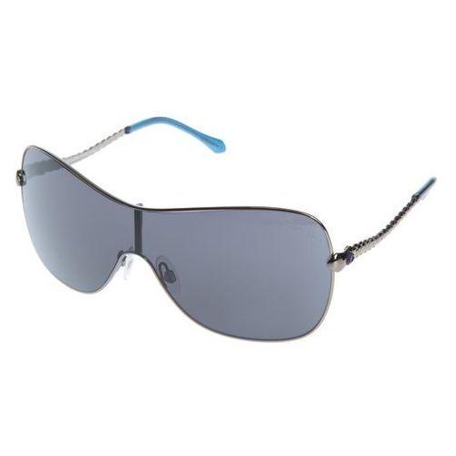 Agena okulary przeciwsłoneczne niebieski srebrny uni Roberto cavalli
