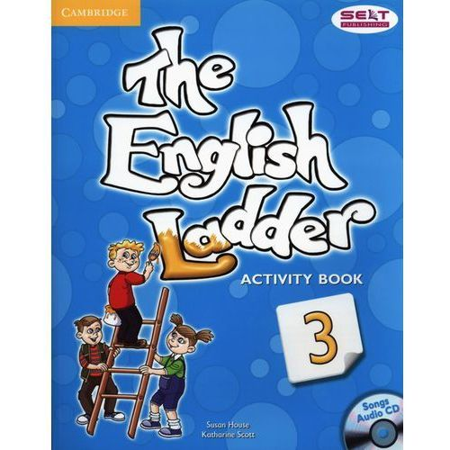 The English Ladder 3 Ćwiczenia + Songs CD, oprawa miękka