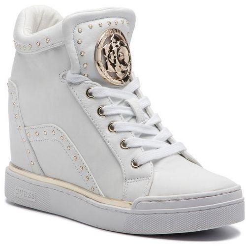 132e1e602fba2 ▷ Sneakersy - fl5fr2 lea12 white (Guess) - ceny,rabaty, promocje i ...