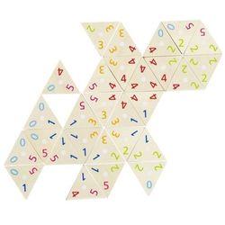 Drewniane domino trójkąty matematyczne marki Goki