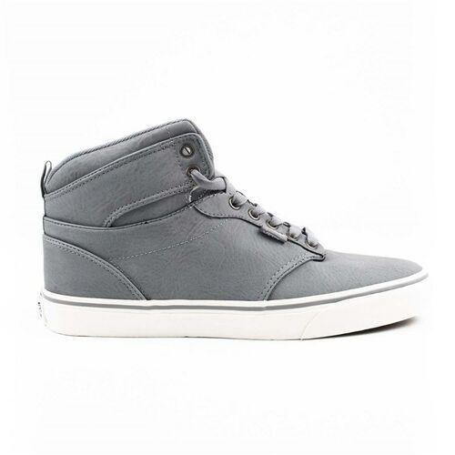 Buty VANS - Atwood Hi (Leather) Frost Gray/Marshmallow (OEP) rozmiar: 47, kolor szary