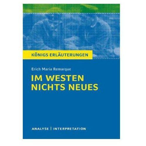 Erich M. Remarque 'Im Westen nichts Neues'