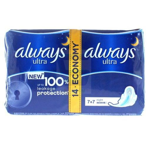 Always ultra night podpaski higieniczne 14 sztuk Procter & gamble