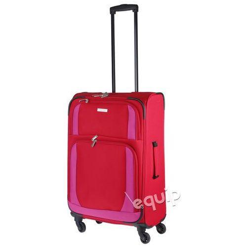 Walizka średnia paklite rocco - czerwony/różowy Travelite