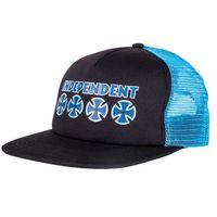 czapka z daszkiem INDEPENDENT - Bc Primary Mesh Back Black/Navy (BLACK-NAVY)