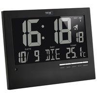 Zegar ścienny TFA 60.4508 Sterowany radiowo, (DxSxW) 185 x 230 x 31 mm (4009816025623)