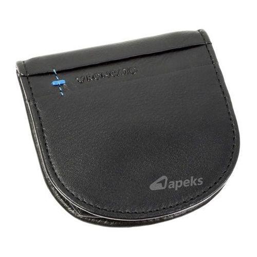 bc03b60383a0c marte 41 1161 01 portfel skórzany na bilon - czarny marki Roncato - 1