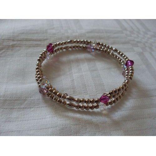 B-00009 Bransoletka na rękę z kryształkami Swarovski, 25-03-12
