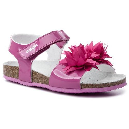 Sandały GEOX - J N.S.Aloha G.E J921CE 000KN C8002 D Fuchsia, kolor różowy