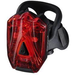lava 260 r (usb) - lampa tylna, czarna marki Infini