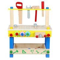 Funikids Drewniany warsztat z narzędziami 48 elementów + gratis na dzień dziecka!!