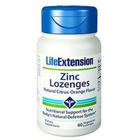 Cynk Lozenges LifeExtension (60 pastylek do ssania)