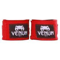 Venum Bandaże bokserskie owijki 2,5 m czerwone