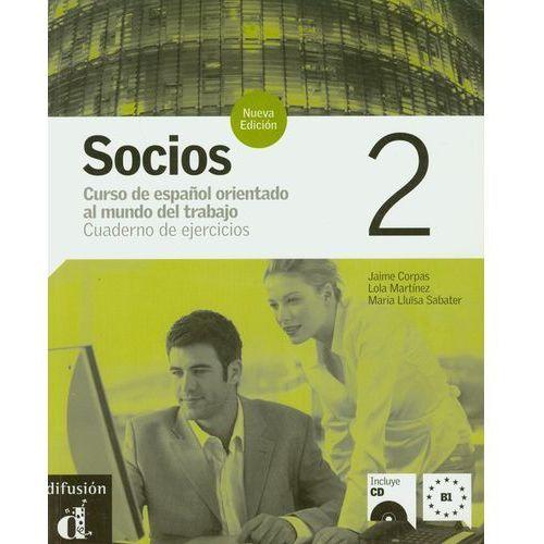 Socios 2 Cuaderno De Ejercicios Z Płytą Cd