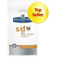 Hill's Prescription Diet Feline Urinary Dissolution s/d - 5 kg