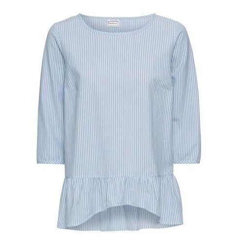 5ddcd73fe6d0d8 Bluzka biało-jasnoniebieski w paski, kolor biały (bonprix) - sklep ...