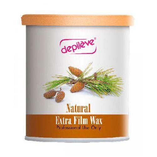 Depileve natural extra film wax wosk do depilacji bezpaskowej - naturalny (800 g.) - Bardzo popularne