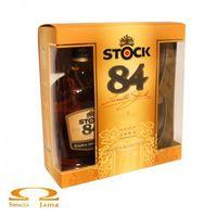 Brandy Stock 84 VSOP 0,7l + 2 szklanki