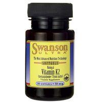 Swanson, Witamina K2 50mcg, 30 kapsułek - Długi termin ważności! DARMOWA DOSTAWA od 39,99zł do 2kg!