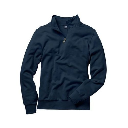 Bluza ze stójką regular fit granatowy marki Bonprix